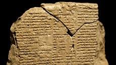 Epos o Gilgamešovi se dodnes zachoval na dvanácti různıch tabulkách.