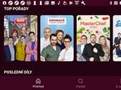 V aplikaci Nova Plus najdete pořady vysílané televizí Nova