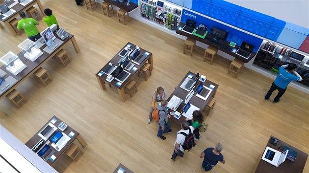 Microsoft Store na 5. Avenue v New Yorku