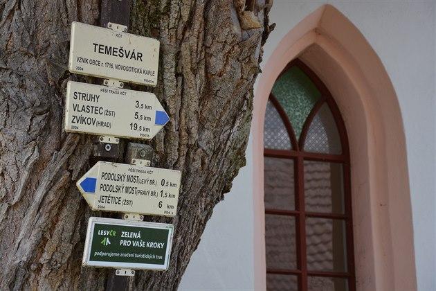 Dřív se obec Temešvár jmenovala Nová Ves.