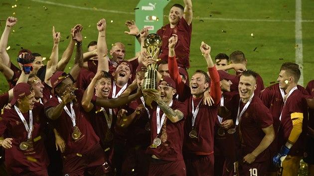 Sparta Praha, vítěz MOL Cupu 2019/20.