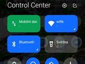 Mi Control Center se inspiruje v systému MIUI.
