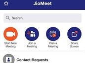 Komunikační aplikace JioMeet má původ v Indii.