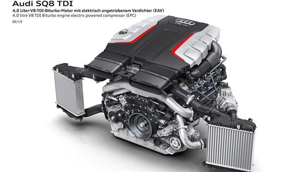 Motor V8 TDI pro Audi SQ7 a SQ8