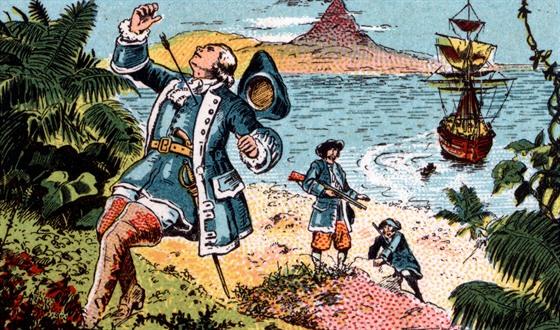 Smrt na Havaji. James Cook zemřel 14. února 1779 v zátoce Kealakekua.