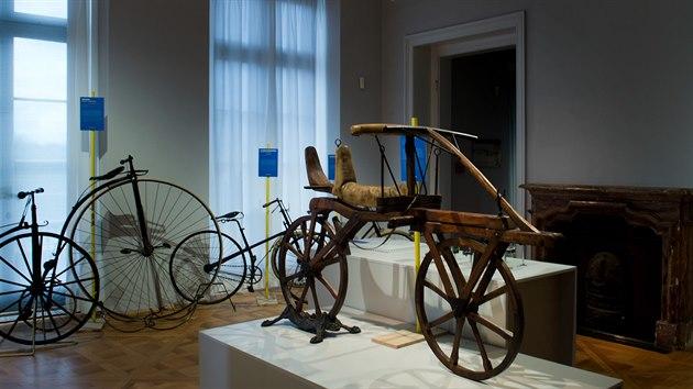 Expozice na zámku Pillnitz v Drážďanech