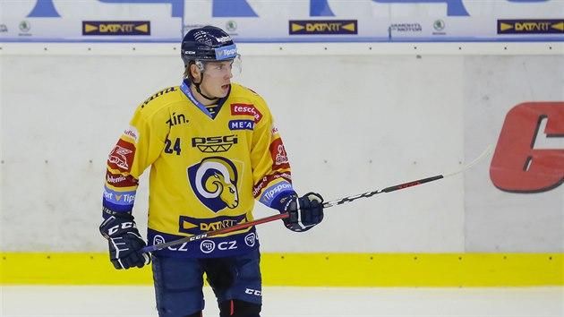 Zlínskı hokejista Jiří Suhrada