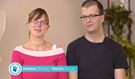 Helena a Martin se seznámili na pouti do Teplé, oba jsou věřící.