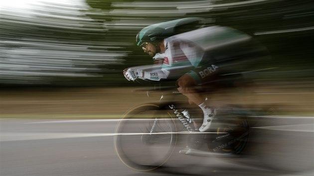 Peter Sagan během časovky na Tour de France.
