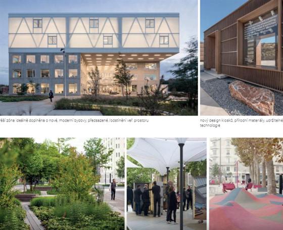 Architekti z brněnského Next Studia vytvořili pro Břeclav sérii nápadů, jak ji...