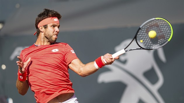 Jiří Veselı na turnaji v Hamburku.