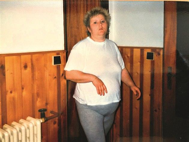 Hana Chládková před proměnou