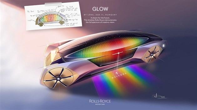 Rolls-Royce Glow: Léna, 11 let, Maďarsko