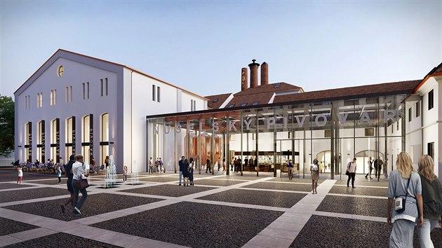 V místě současného brownfieldu v pražských Nuslích Penta Real Estate vybuduje na téměř 32 000 m2 novou městskou čtvrť.