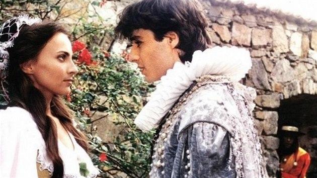 Daniela Krhutová a Jiří Kuldan v pohádce Marie Růžička (1994)