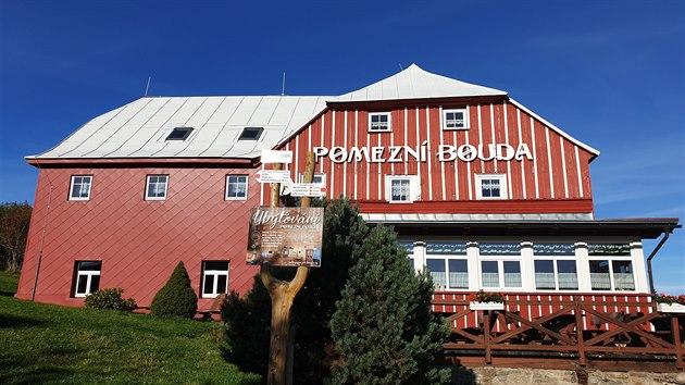 Symbol hranic: Pomezní boudu využívali dříve především obchodníci ze sousedního Slezska. Dodnes je tu ubytování i hostinec.