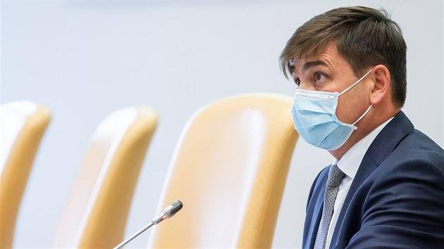Nově zvolenı královéhradeckı hejtman občanskı demokrat Martin Červíček  (2. 11. 2020)