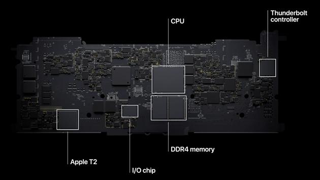 Apple M1 integruje mimo SSD většinu systémů počítače.