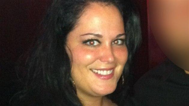 Rachel Layou před zpackanou operací. Její hmotnost se tehdy vyšplhala až na 165 kilogramů.