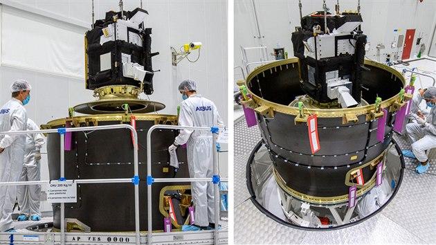 Příprava sondy Taranis