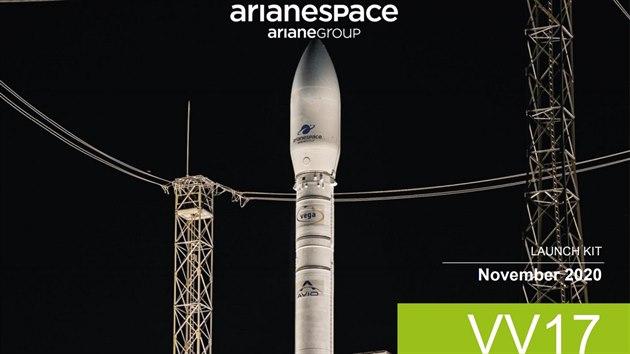 Mise VV17, v jejímž rámci vynese raketa Vega sondu TARANIS do vesmíru.