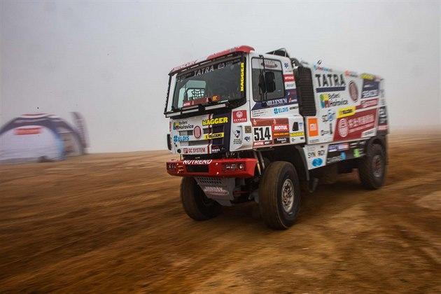 Tatrovka stáje Buggyra pro Rallye Dakar 2021, řídit ji bude Martin Šoltys.