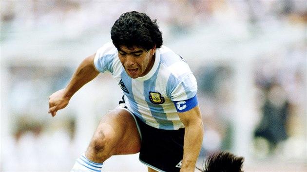 Maradona coby postrach obránců