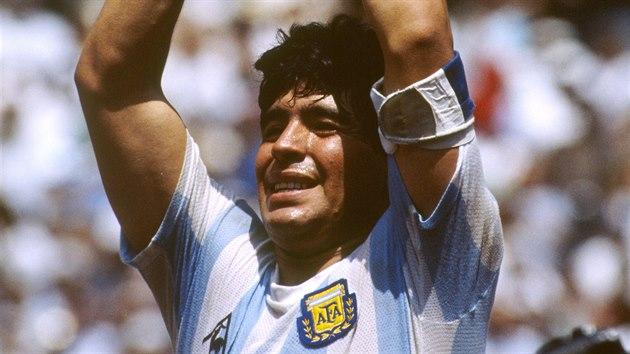 Maradona coby mistr světa