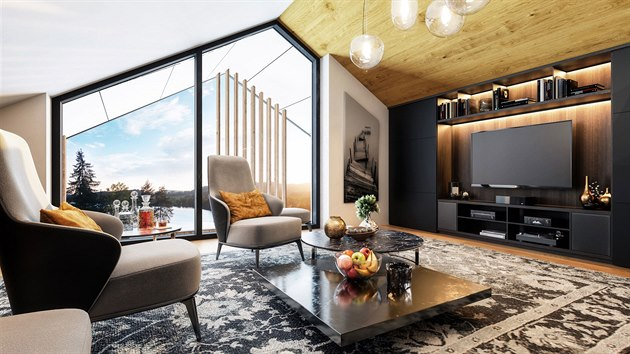 Luxusní rezidenční areál na Lipně otevře své brány příští rok