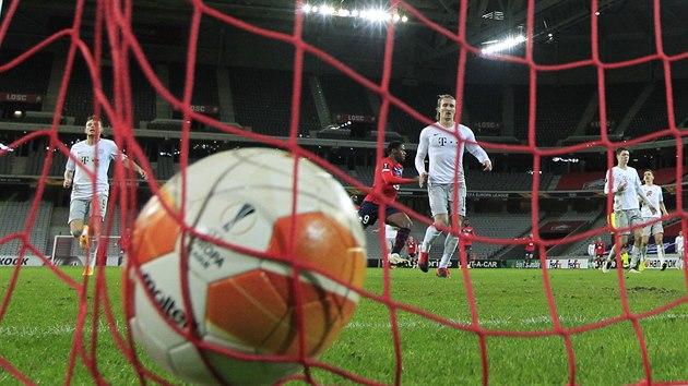 Takhle to vypadalo po vyrovnávacím gólu v duelu mezi Lille a Spartou.