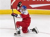 Českı útočník Martin Lang vstřelil proti Rusku na mistrovství světa juniorů gól.