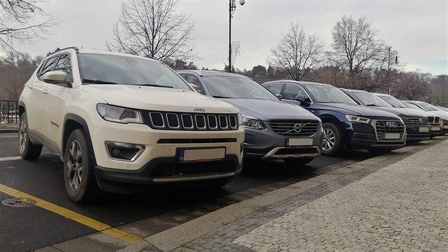 SUV v Praze