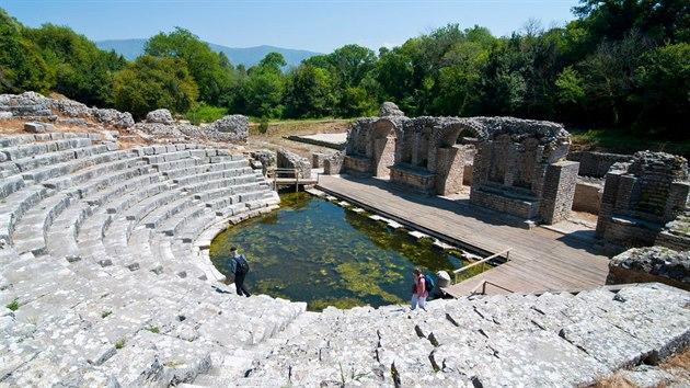 Butrint se dostal na seznam kulturního dědictví UNESCO.