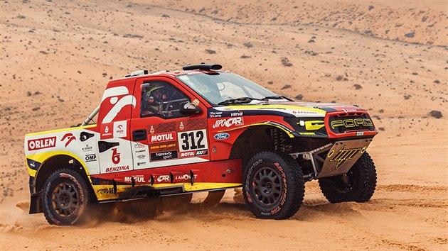 Martin Prokop na trati Rallye Dakar.
