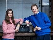 Zakladatelé firmy Optimistic, Amalie Koppová a David Balcar