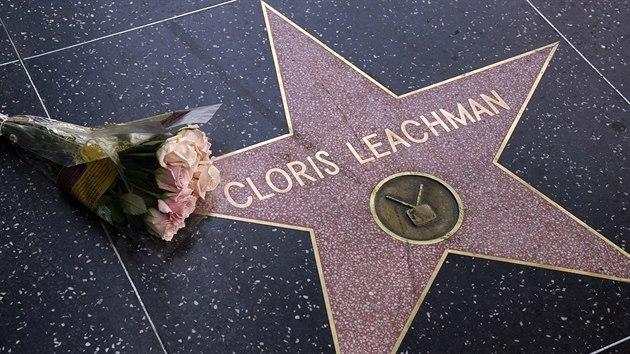 Americká herečka Cloris Leachmanová má svou hvězdu na hollywoodském chodníku slávy.