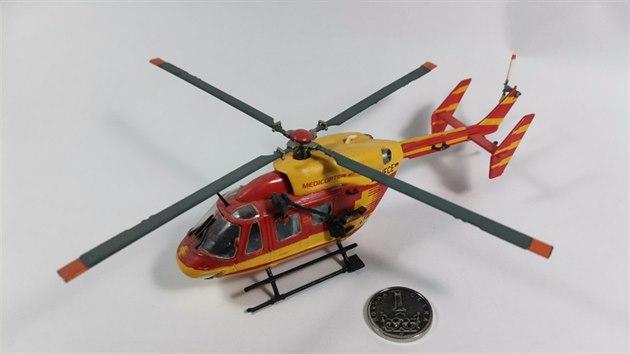 Od malička zbožňoval Medicopter, i proto jeho prvním dílem je právě vrtulník z tohoto seriálu.