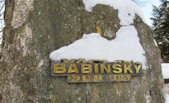 Babinskı dožíval jako zahradník v řepském klášteře sester boromejek. Připomíná...