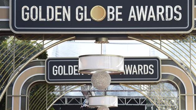 Dějiště Zlatıch glóbů v Beverly Hills
