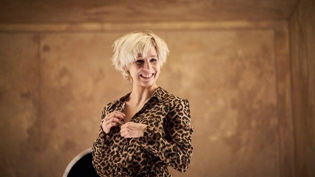 Anežka Kubátová na snímku k audiowalku Kleopatra, kterı chystá Divadlo Na zábradlí ve spolupráci se souborem 8lidí.