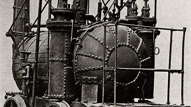 Jedna z prvních lokomotiv: Hedleyho Bafající Billy