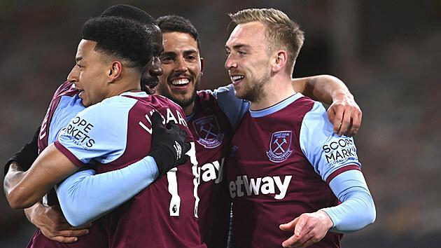 Gólová radost fotbalistů West Hamu