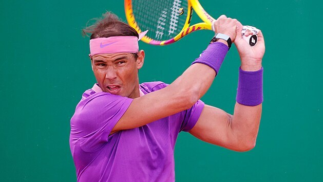 Rafael Nadal na turnaji v Monte Carlu