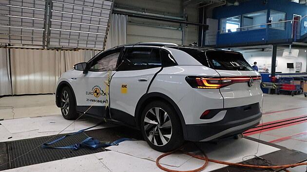 Volkswagen ID.4 v testech Euro NCAP