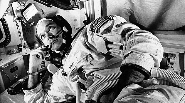 Astronaut Michael Collins (19. června 1969)
