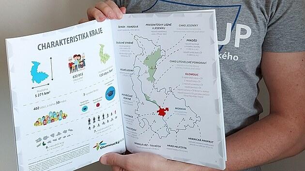 Jakub Žejdlík se rozhodl ve své bakalářské práci vytvořit originální tematickı atlas Olomouckého kraje.