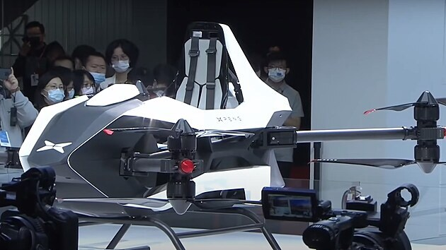 Létající stroj firmy Xpeng