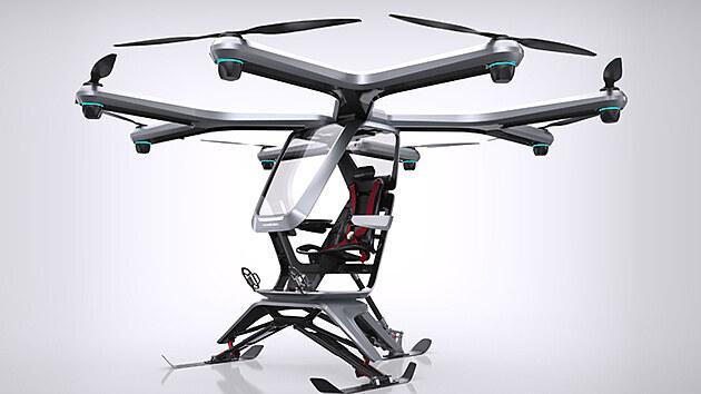 Jeden z předchozích prototypů létajícího stroje automobilky Xpeng