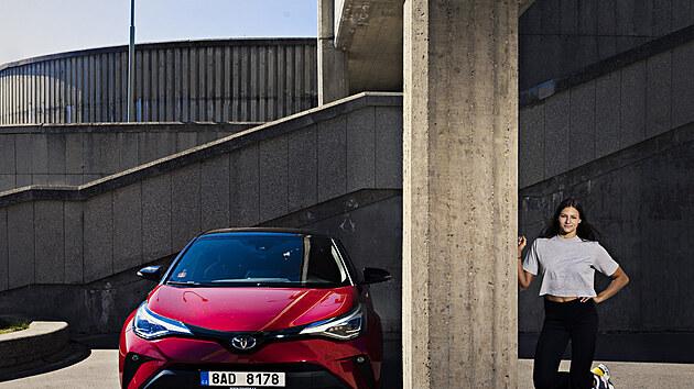 Barbora Seemanová a její Toyota C-HR