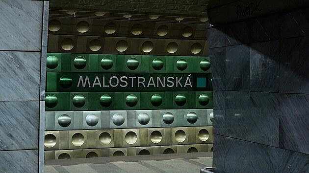 Stanice pražského metra Malostranská